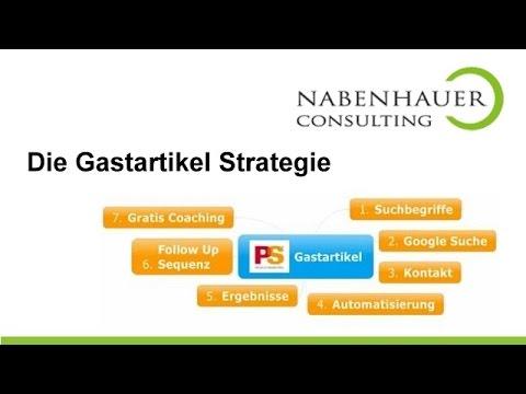 Gastartikelstrategie - Mit der Gastartikeln Expertenstatus aufbauen - Nabenhauer Consulting
