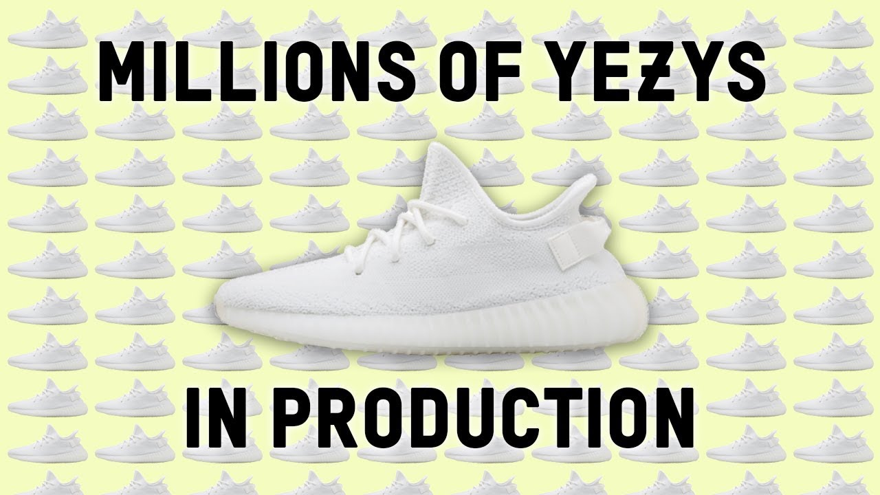 881b89d31d6ab MILLIONS OF YEEZY BOOST 350 V2 RELEASING WORLD-WIDE!!! - YouTube