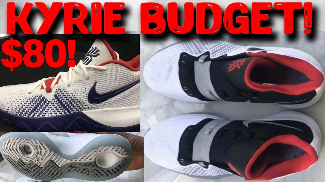 99840bcdb448  80 Nike Kyrie Budget Model! More Pictures! Burrito Fit   - YouTube