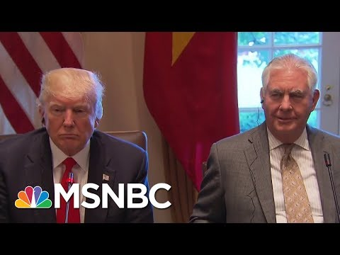 Was Secretary Of State Rex Tillerson\'s Firing A Long Time Coming? | Andrea Mitchell | MSNBC