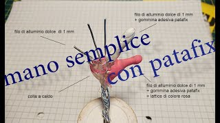 Stopmotion mano semplice con patafix