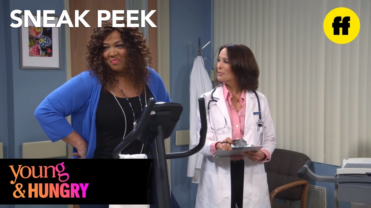 Young & Hungry | Season 5, Episode 4 Sneak Peek: Yolanda Gets a Health Exam  | Freeform