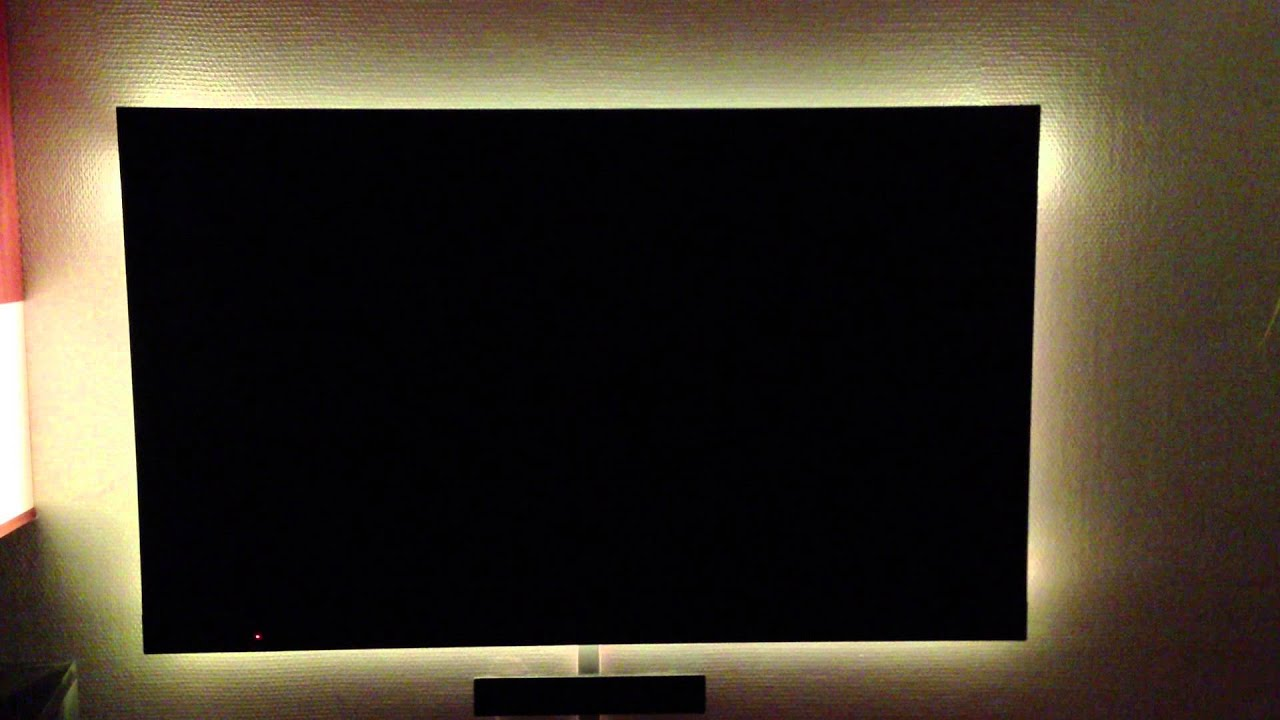 produkttest paulmann led stripes als tv hintergrundbeleuchtung youtube. Black Bedroom Furniture Sets. Home Design Ideas