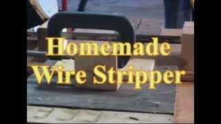 Homemade Wire Stripper Made Cheap