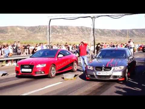 BMW E90 330D 12.7 vs AUDI A5 3.0D 15.0