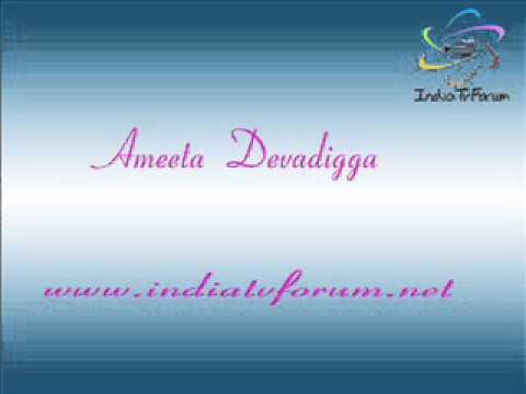 Ameeta Devadigga Interview -Part 1 -7 Dec 2013