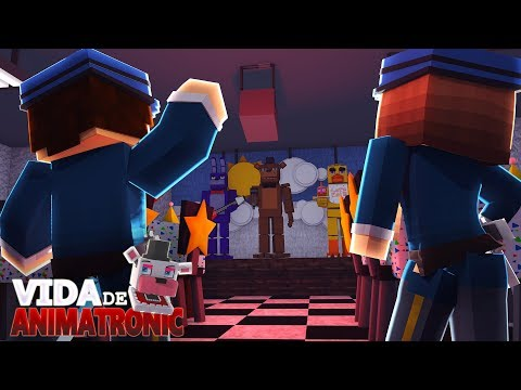 Minecraft: VIDA DE ANIMATRONIC #01 - A NOVA PIZZARIA !! ( FIVE NIGHTS AT FREDDY'S )