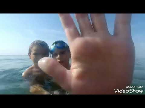 Grabando bajo del mar
