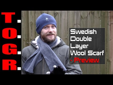 Thick, Warm and Inexpensive! - Swedish Double Layer Wool Sca