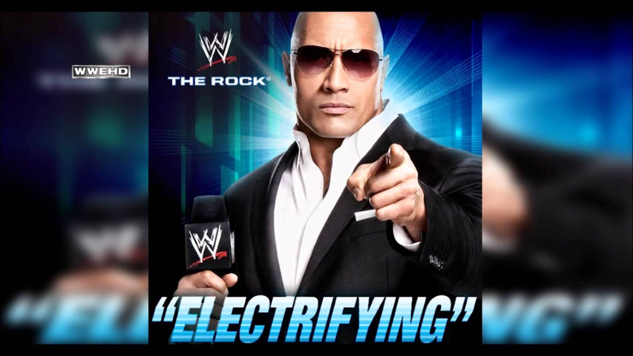 Wwe quot electrifying quot the rock theme song ae arena effect