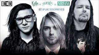 Get Up Like Teen Spirit V2.0 (Korn ft. Skrillex vs. Nirvana Mashup)