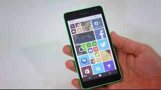 видео Microsoft lumia 535. Обзор и характеристики