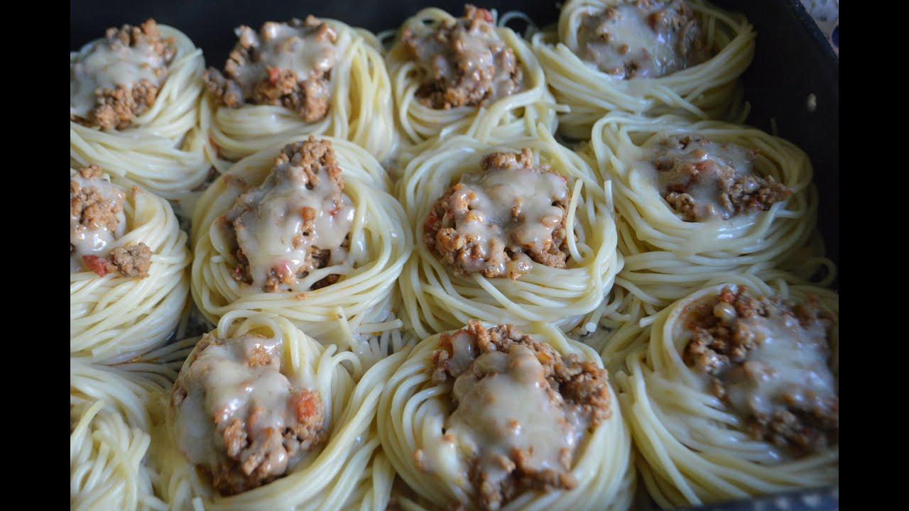 Простые рецепты с спагетти
