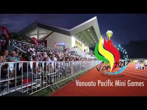 Vanuatu Pacific Mini Games Opening Ceremony