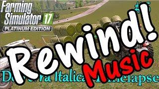 Reverse Music FS17 Timelapse, De Terra Italica #5: Round Bales!
