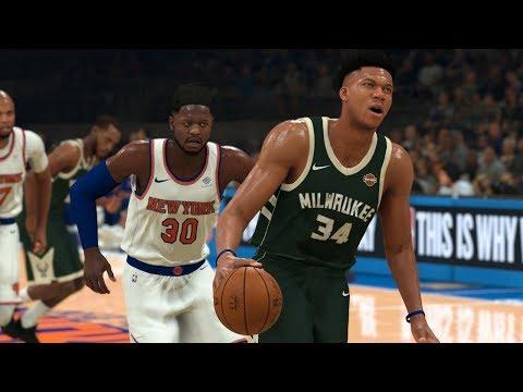 NBA Today 12/21 Milwaukee Bucks Vs New York Knicks Full Game Highlights | NBA 2K