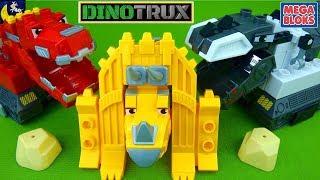 Dinotrux Mega Bloks Toys Buildable Mega Construx Rock Dozin Dozer Ty Rux D Structs Ton Ton Toys!