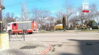 пожарная свадьба в Керчи