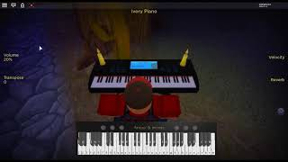 This is Me - The Greatest Showman by: Benj Pasek & Justin Paul on a ROBLOX piano.