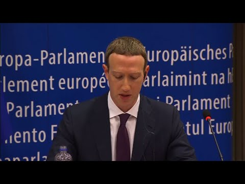 Zuckerberg Apologizes to EU for Facebook Lapses
