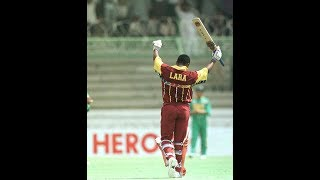 Greatest World Cup Innings - BRIAN LARA 111 (94)  in 1996 World Cup QF VS South Africa
