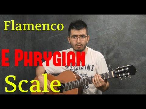 how to play Flamenco with the E Phrygian Scale