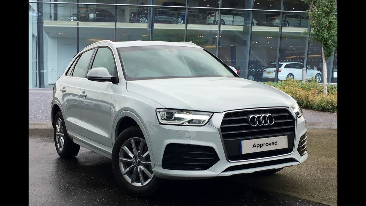 la66gwf audi q3 tfsi sport white 2017 west london audi youtube. Black Bedroom Furniture Sets. Home Design Ideas