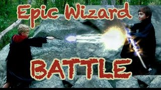 Wizard vs Wizard (Kids Harry Potter inspired Wizard Battle)