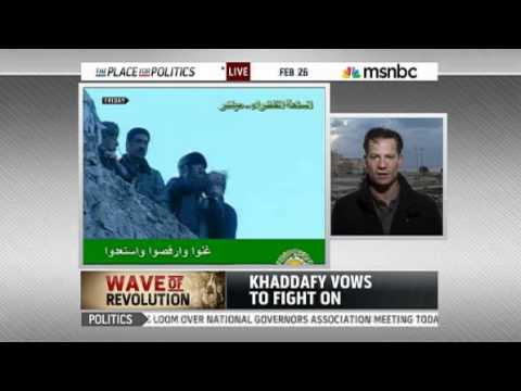 Gadhafi 'opens the arms depot' to supporters   World news   Mideast N  Africa   msnbc com