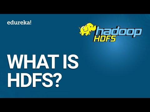 What is HDFS | Hadoop Distributed File System (HDFS) Introduction | Hadoop Training | Edureka