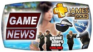 Watch Dogs 2, Rocket League, DoAX3, Evolve, GTA Online, Kostenlose Spiele - Game News