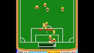 Arcade Game: Exciting Soccer (1983 Alpha Denshi Co.)