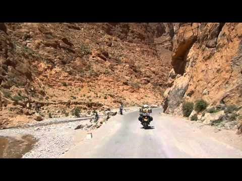 Morocco 2012 - A motorbike trip to Morocco, BMW F650 Dakar, Yamaha Tenere & 660Z