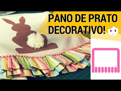 DIY SEWING: DECORATIVE EASTER DISHCLOTH | DRICA TV | MON. AND THU.