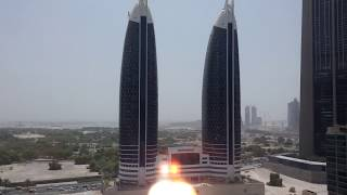 DUBAI Views from Rose Rayhaan by Rotana Hotel 4 stars Luxury