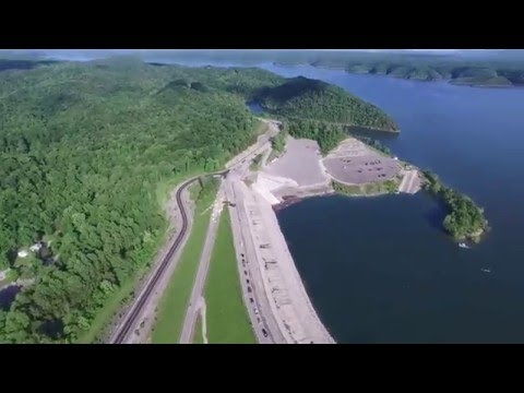 Phantom 3 Pro - Lake Cumberland & Wolf Creek Dam, KY, US