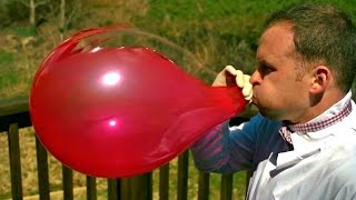 BALLOONS COMPILATION - SLOW MO (Water Balloons, Balloons, Balloon Fight, Balloon Pop, Giant Balloon)