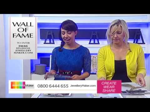 How To Make Gemstone Jewellery - JewelleryMaker LIVE (am) 26/07/2015