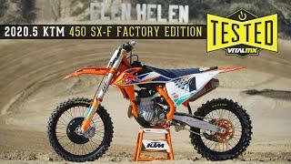 FIRST IMPRESSION: 2020.5 KTM 450 SX-F Factory Edition