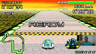 Let's Play F-Zero - MaxVelocity I Part 163 I Crystal vs. Joker in der Pawn League