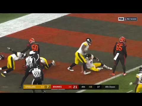 cleveland-browns-vs.-pittsburgh-steelers-fight