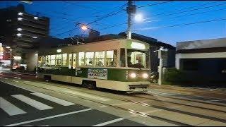 広島電鉄700形707号 海岸通〜宇品五丁目