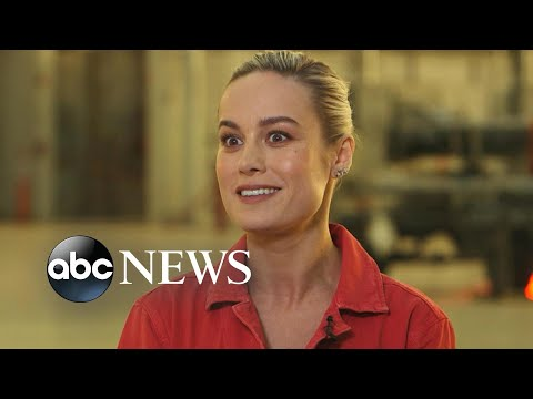 Captain Marvel star Brie Larson on taking landmark role