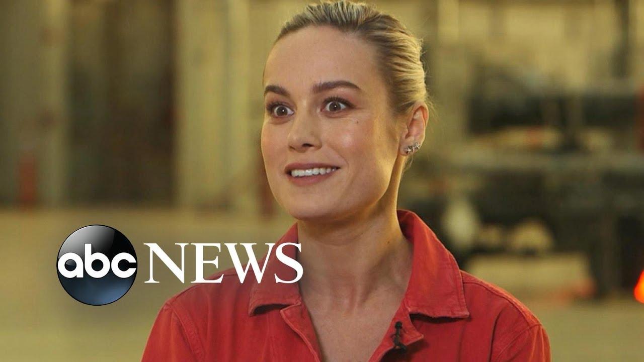Captain Marvel star Brie Larson on taking landmark role