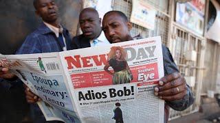 Robert Mugabe: end of an era