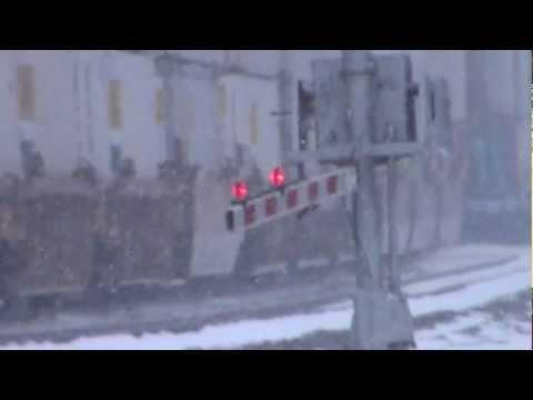 (HD) Alliance, Ohio Railfanning - Conrail 5420 ,UP, BNSF, Amtrak, CSX 1/14/2012