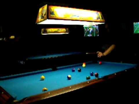 POOL Practice Game R Place Pub In Lyndon.KY / East End Louisville,KY  1 15 2012.AVI