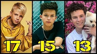 Famous Musical Ly Boys From Oldest to Youngest
