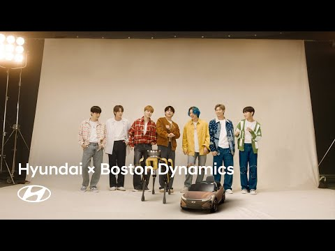 Hyundai x Boston Dynamics   Welcome to the Family with BTS