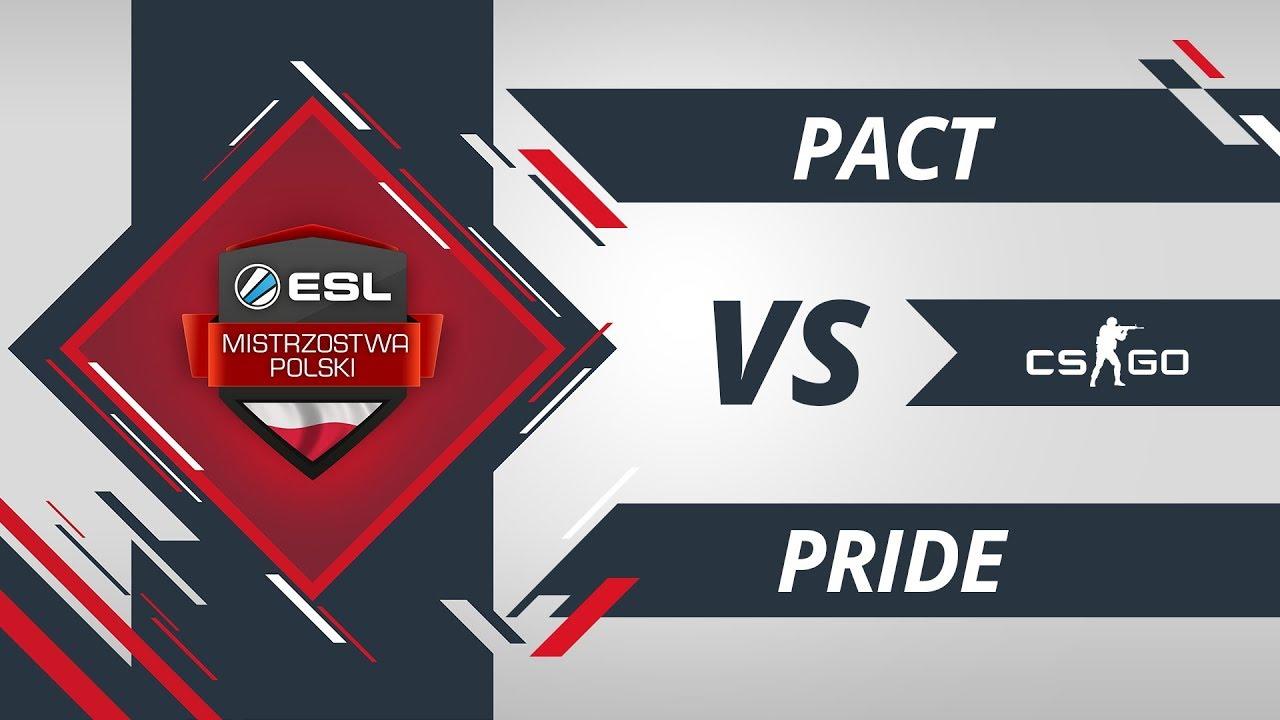PACT vs PRiDE | EMP CS:GO Kolejka #7 Mapa #1